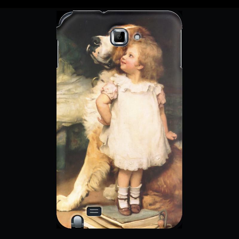 Чехол для Samsung Galaxy Note Printio Картина артура элсли (1860-1952) шоколадка 35х35 printio картина артура элсли 1860 1952