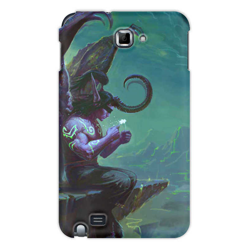 Чехол для Samsung Galaxy Note Printio Warcraft collection: illidan чехол для для мобильных телефонов rcd 4 samsung 4 for samsung galaxy note 4 iv
