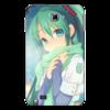 "Чехол для Samsung Galaxy Note ""Miku Hatsune Sush"" - аниме, hatsune, мику, бесконечное лето, miku"