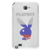 "Чехол для Samsung Galaxy Note ""Playboy Россия"" - playboy, россия, плейбой, зайчик, плэйбой"