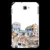 """Чехол для Samsung Galaxy Note """"Индейцы. Путешествие по США"""" - авто, сша, автомобили, путешествия, машины, индейцы"""