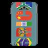 "Чехол для Samsung Galaxy Note ""BRICS - БРИКС"" - россия, китай, индия, бразилия, юар"