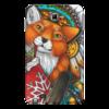 """Чехол для Samsung Galaxy Note """"Зимняя лисица"""" - прикольно, арт, winter, в подарок, fox, лиса, креативно, чехол"""