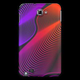 """Чехол для Samsung Galaxy Note """"Абстракция"""" - узор, стиль, рисунок, абстракция, абстрактный"""