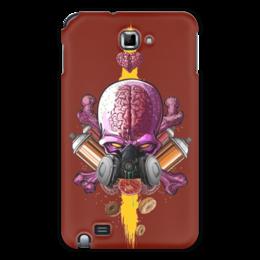 "Чехол для Samsung Galaxy Note ""Граффити Арт"" - skull, graffiti, череп, краска, граффити"