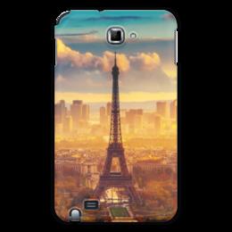 """Чехол для Samsung Galaxy Note """"Романтическое Настроение"""" - романтика, париж, эйфелева башня"""