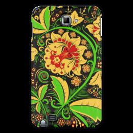 """Чехол для Samsung Galaxy Note """"Хохлома"""" - хохлома, цветы"""