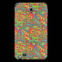 """Чехол для Samsung Galaxy Note """"Растительный дудл орнамент"""" - арт, узор, абстракция, иллюстрация, дудл"""