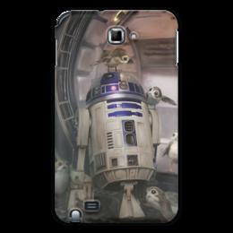 """Чехол для Samsung Galaxy Note """"Звездные войны - R2-D2"""" - кино, фантастика, star wars, звездные войны, дарт вейдер"""