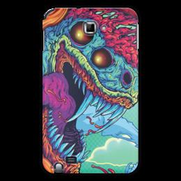 "Чехол для Samsung Galaxy Note ""Hyper Beast"" - монстр, клыки, яд, hyper beast"