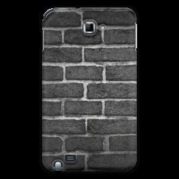 "Чехол для Samsung Galaxy Note ""Кирпичный"" - арт, узор, стена, камень, кирпич"