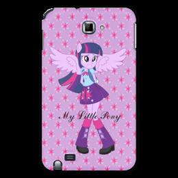 """Чехол для Samsung Galaxy Note """"Искорка (Девочки Эквестрии)"""" - мультфильм, мой маленький пони, искорка, equestria girls, девочки эквестрии"""