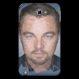 "Чехол для Samsung Galaxy Note ""Leonardo DiCaprio"" - леонардо, лео, дикаприо, полигон"