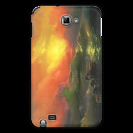 "Чехол для Samsung Galaxy Note ""Девятый вал (картина Айвазовского)"" - картина, айвазовский"