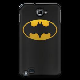 """Чехол для Samsung Galaxy Note """"бэтмен"""" - бэтмен, бетмен"""