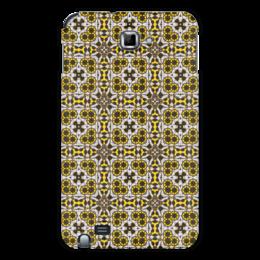 "Чехол для Samsung Galaxy Note ""oolop7600"" - арт, узор, абстракция, фигуры, текстура"