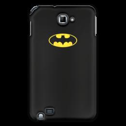 """Чехол для Samsung Galaxy Note """"Бэтмен / Batman"""" - комиксы, batman, джокер, символ"""