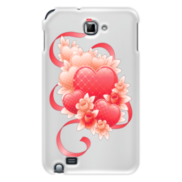 """Чехол для Samsung Galaxy Note """"Любимой на 14 февраля"""" - цветы, 14фев"""