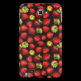 "Чехол для Samsung Galaxy Note ""мммм, Клубничка!"" - клубника, клубничка, вкусно, сочно"