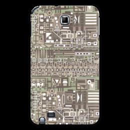 "Чехол для Samsung Galaxy Note ""FG345gh"" - арт, узор, абстракция, фигуры, текстура"
