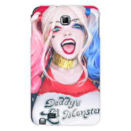 "Чехол для Samsung Galaxy Note ""Отряд Самоубийц: Харли Квинн"" - харли квинн, harley quinn, отряд самоубийц, suicide squad"