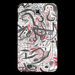 "Чехол для Samsung Galaxy Note ""Mamewax"" - арт, узор, абстракция, фигуры, медитация"