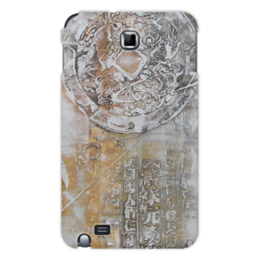 "Чехол для Samsung Galaxy Note ""Знаки"" - арт, картина, фактурный, 14фев"