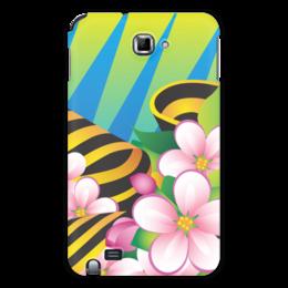 "Чехол для Samsung Galaxy Note ""Победа"" - 9 мая, праздник, цветы"