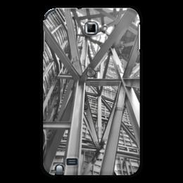 """Чехол для Samsung Galaxy Note """"Металличесие балки"""" - архитектура, металл, балки, сооружения"""
