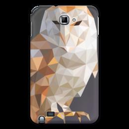 "Чехол для Samsung Galaxy Note ""NightOwl"" - арт, сова, филин, owl"