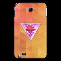 "Чехол для Samsung Galaxy Note """"ANIMALSWAG II"" collection: Fox"" - fox, лиса, swag, свэг"