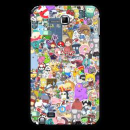 "Чехол для Samsung Galaxy Note ""STICKERS"" - арт, дизайн, аниме, мульт, фэн-арт"