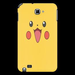 "Чехол для Samsung Galaxy Note ""Pikachu"" - для детей, покемон, pokemon, пикачу, pikachu"