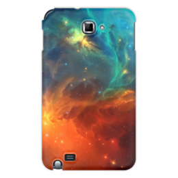 """Чехол для Samsung Galaxy Note """"Космическая туманность"""" - космос, фотография, звёзды, спутник, туманность"""