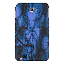 "Чехол для Samsung Galaxy Note ""Краски"" - узор, космос, краски, абстракция, молния"
