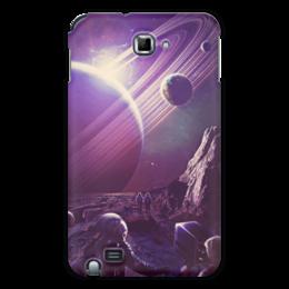 "Чехол для Samsung Galaxy Note ""Космос 2100"" - space, планета, космос, cosmos, космонавт"