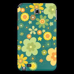 """Чехол для Samsung Galaxy Note """"Хиппи"""" - цветы, философия, хиппи, мировозрение"""