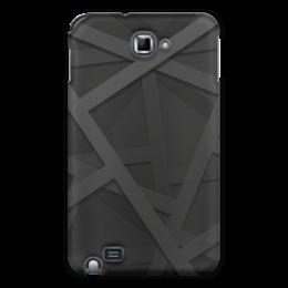 """Чехол для Samsung Galaxy Note """"Абстракция"""" - узор, стиль, абстракция, абстрактный, рсиунок"""
