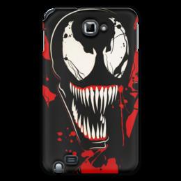 "Чехол для Samsung Galaxy Note ""Веном (Venom)"" - comics, комиксы, venom, марвел, веном"