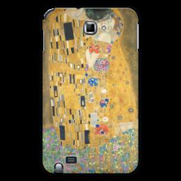 """Чехол для Samsung Galaxy Note """"Поцелуй"""" - картина, искусство, поцелуй, густав климт"""