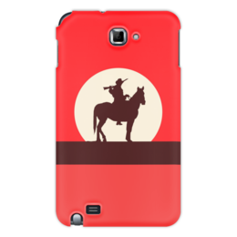 """Чехол для Samsung Galaxy Note """"Ковбой"""" - кино, ковбой, дикий запад, вестерн"""