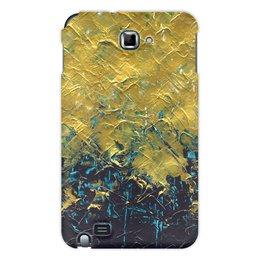 "Чехол для Samsung Galaxy Note ""Abstract"" - картина, разводы, абстракция, живопись, флюид"