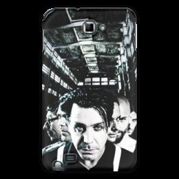 "Чехол для Samsung Galaxy Note ""Rammstein"" - германия, rammstein, рамштайн, линдеманн"