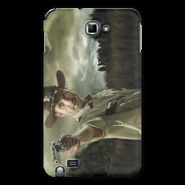 """Чехол для Samsung Galaxy Note """"Ходячие мертвецы"""" - зомби, сериал, ходячие, рик, главный герой"""