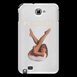 """Чехол для Samsung Galaxy Note """"Playboy Девушка"""" - playboy, плейбой, плэйбой, девушка"""