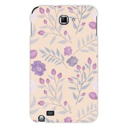 """Чехол для Samsung Galaxy Note """"цветы"""" - лето, цветы, узор, природа, цветочки"""