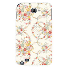 """Чехол для Samsung Galaxy Note """"Цветы"""" - цветы, цветок, роза, листья, букет"""