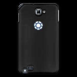 """Чехол для Samsung Galaxy Note """"Железный человек"""" - marvel, символ, мстители, железный человек"""
