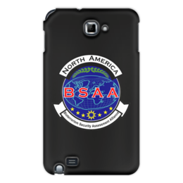 "Чехол для Samsung Galaxy Note ""Resident Evil. BSAA"" - resident evil, umbrella, re, bsaa, racoon city"