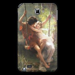 """Чехол для Samsung Galaxy Note """"Весна (Пьер Огюст Кот)"""" - кот, картина"""